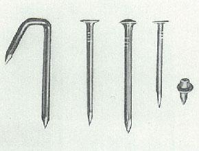 昭和30年頃の製品(特殊釘)