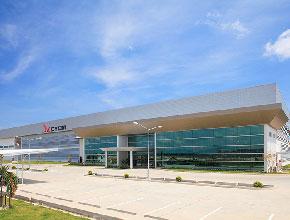 2011年 CYCM(タイ拠点)本社工場設立