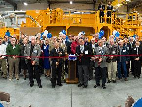 2012年 アメリカ拠点BRMへ全米最大クラス1,100tの超大型フォーマー導入