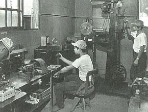 昭和40年頃の検査室