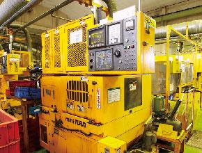 1993年 CNC切削機導入